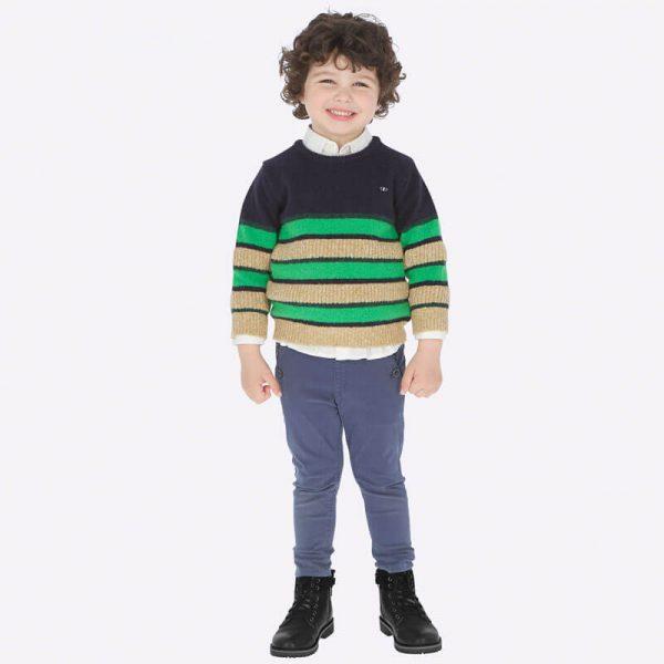 Mini Fiú Gumis Derekú Nadrág