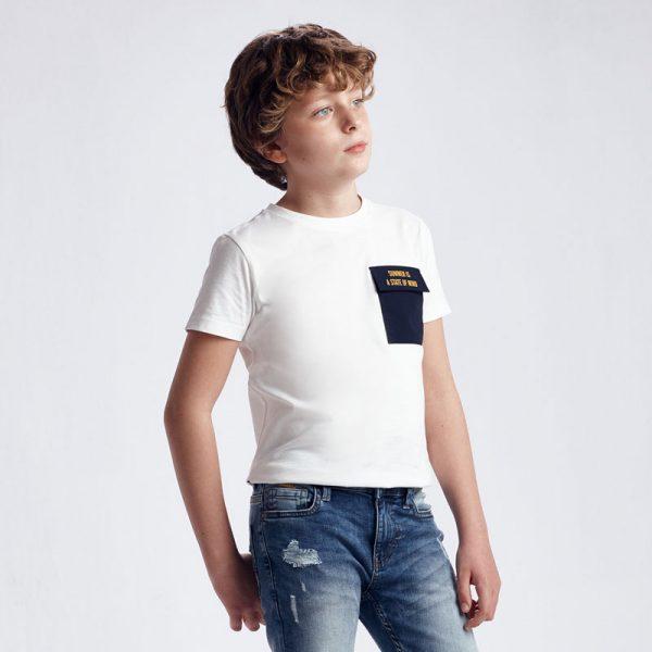 Mayoral Junior Fiú Póló  'with pocket'