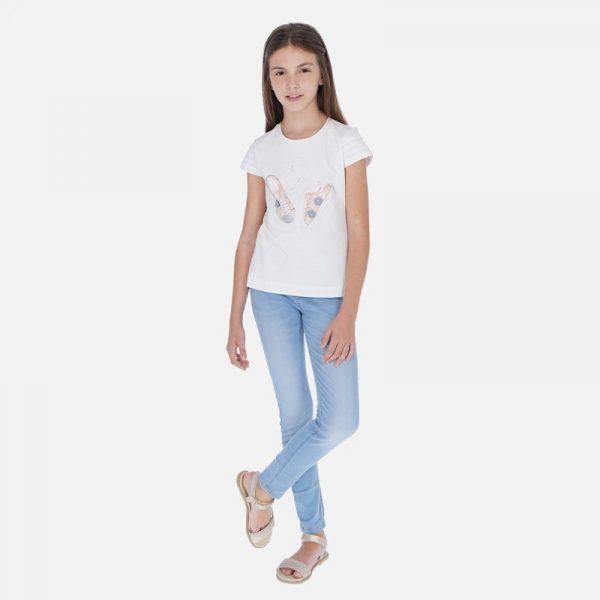 Mayoral Junior Lány Basic Skinny Farmer Leggings